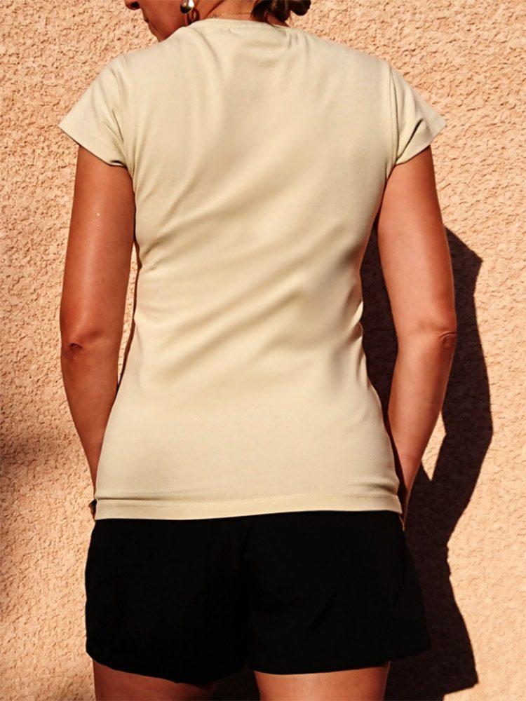 T-shirt All Human Africa - arrière