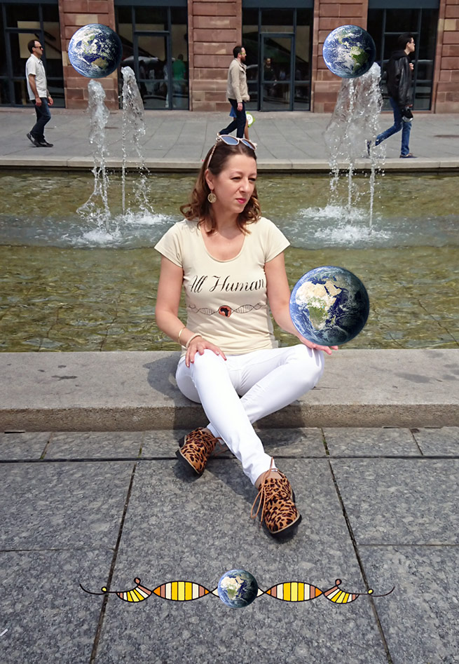 Nathalie, créatrice de la marque All Human